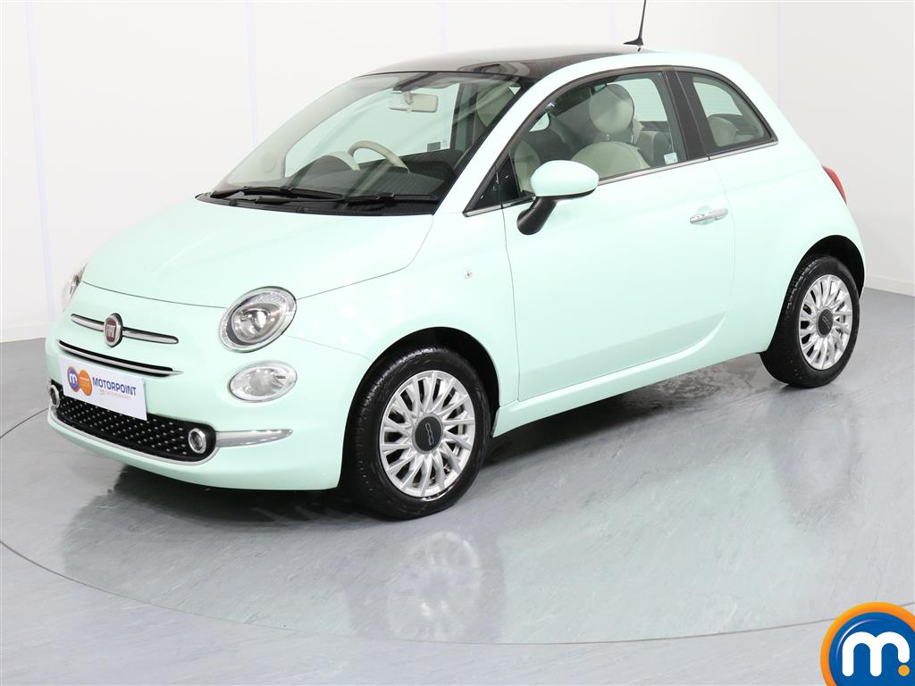 Fiat 500 Lounge - Stock Number 1050856 Passenger side front corner
