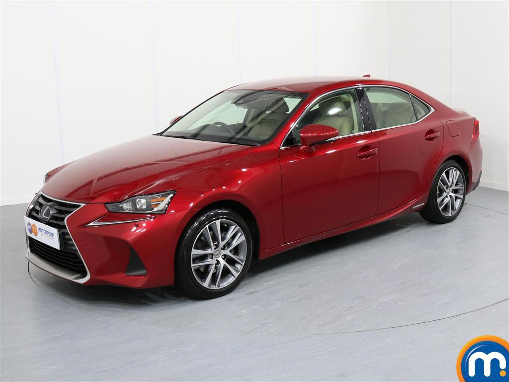 Lexus IS Advance - Stock Number 1050857 Passenger side front corner
