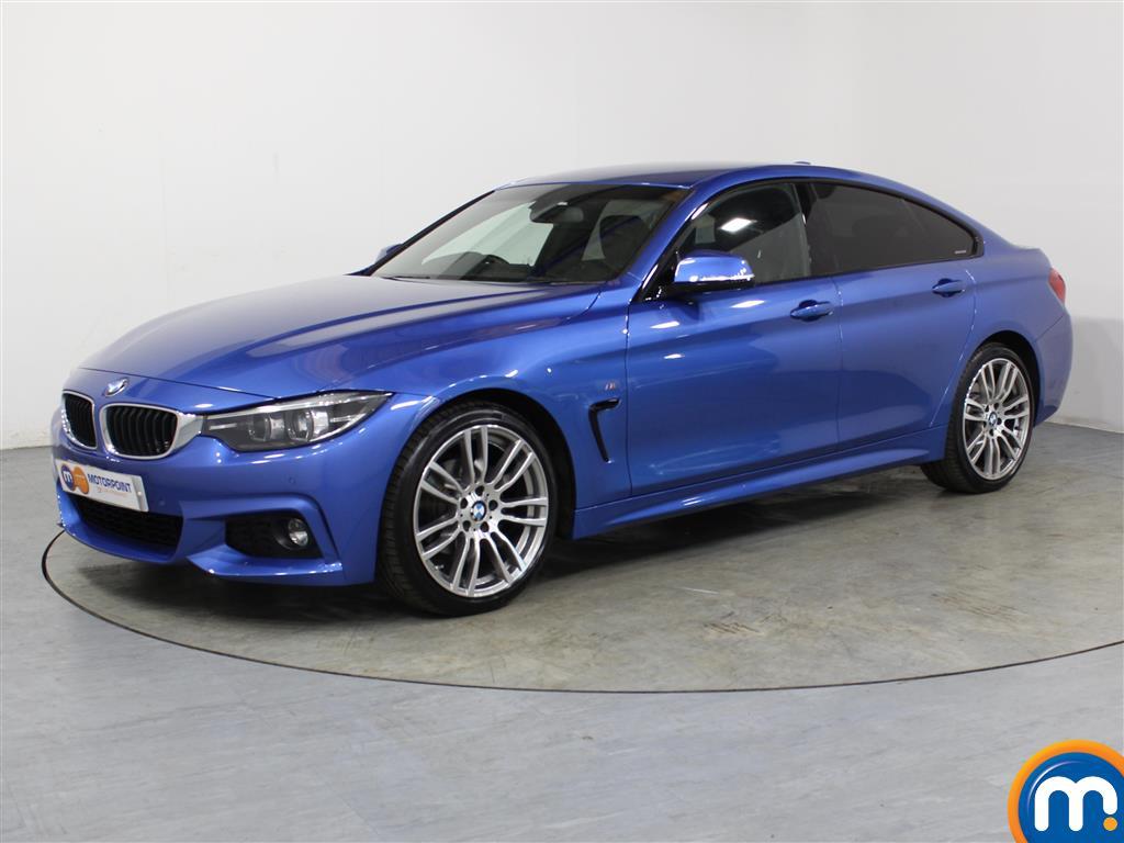 BMW 4 Series M Sport - Stock Number 1050045 Passenger side front corner