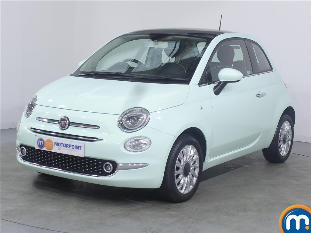 Fiat 500 Lounge - Stock Number 1050867 Passenger side front corner