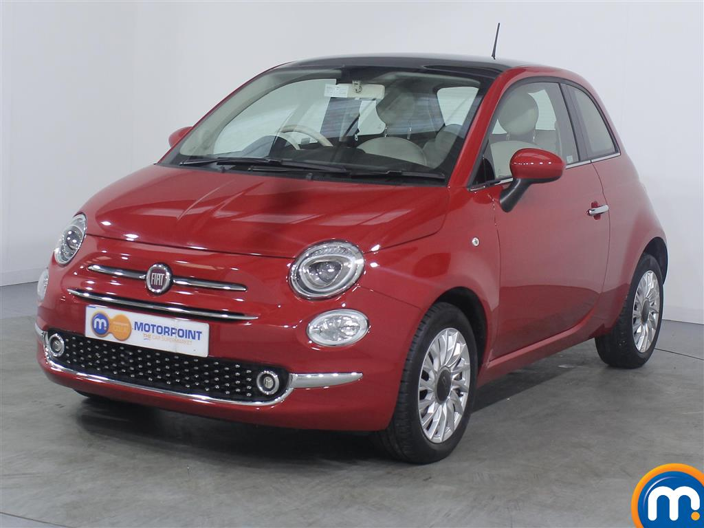 Fiat 500 Lounge - Stock Number 1050813 Passenger side front corner