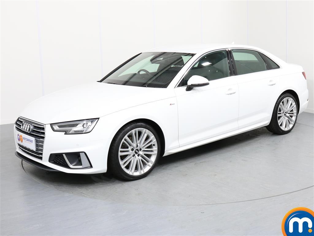 Audi A4 S Line - Stock Number 1048657 Passenger side front corner