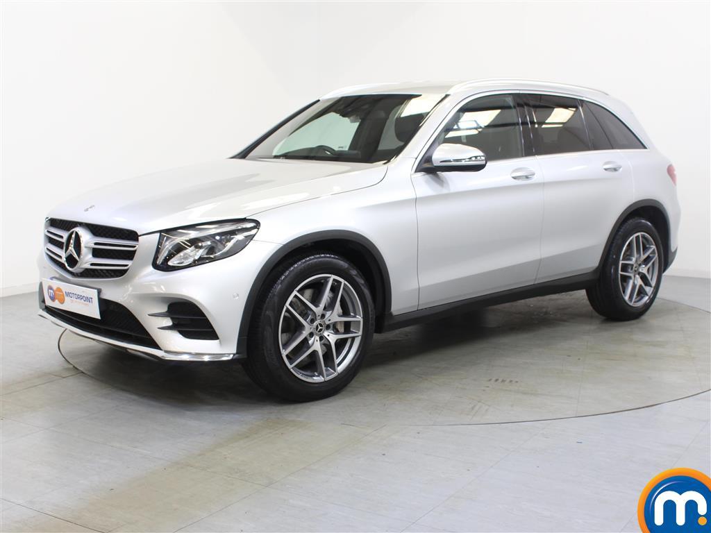 Mercedes-Benz GLC AMG Line - Stock Number 1047288 Passenger side front corner