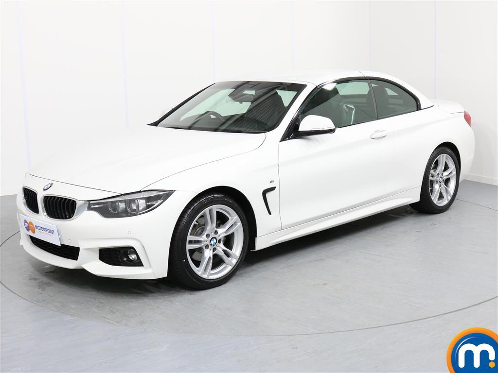 BMW 4 Series M Sport - Stock Number 1049320 Passenger side front corner