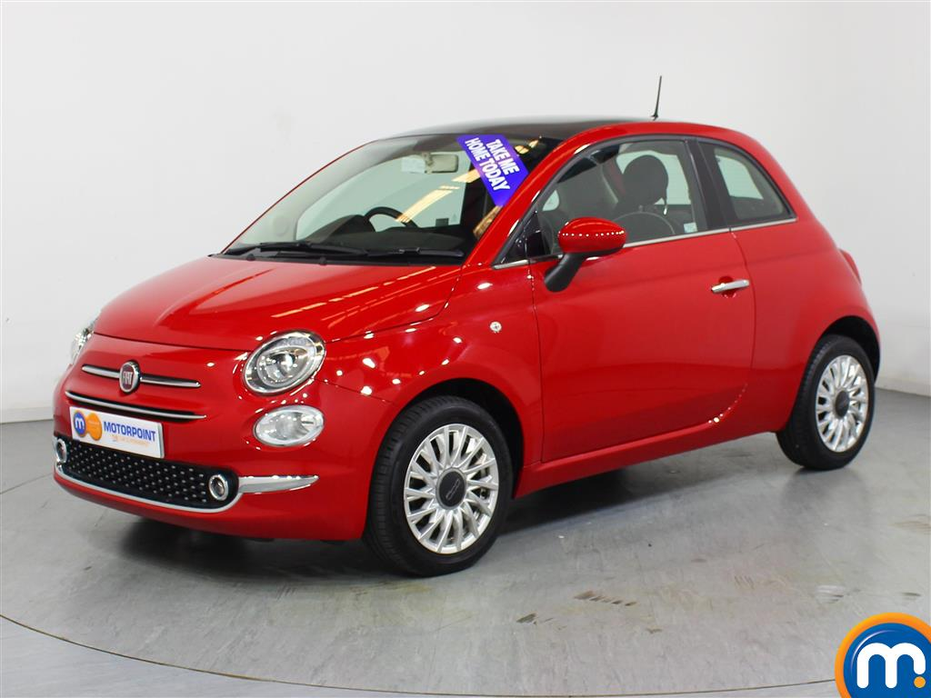 Fiat 500 Lounge - Stock Number 1050850 Passenger side front corner