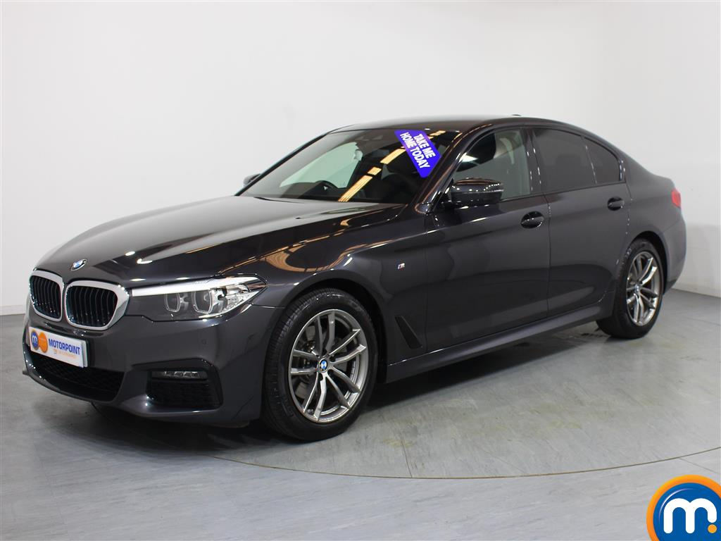 BMW 5 Series M Sport - Stock Number 1049155 Passenger side front corner