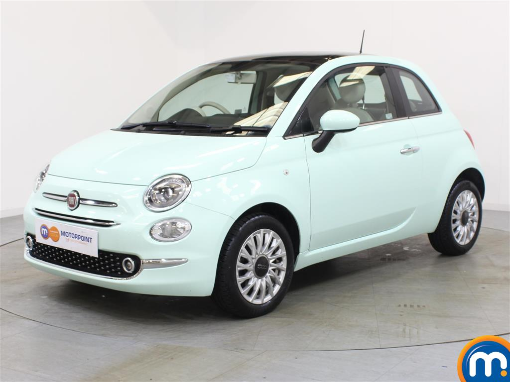 Fiat 500 Lounge - Stock Number 1048125 Passenger side front corner