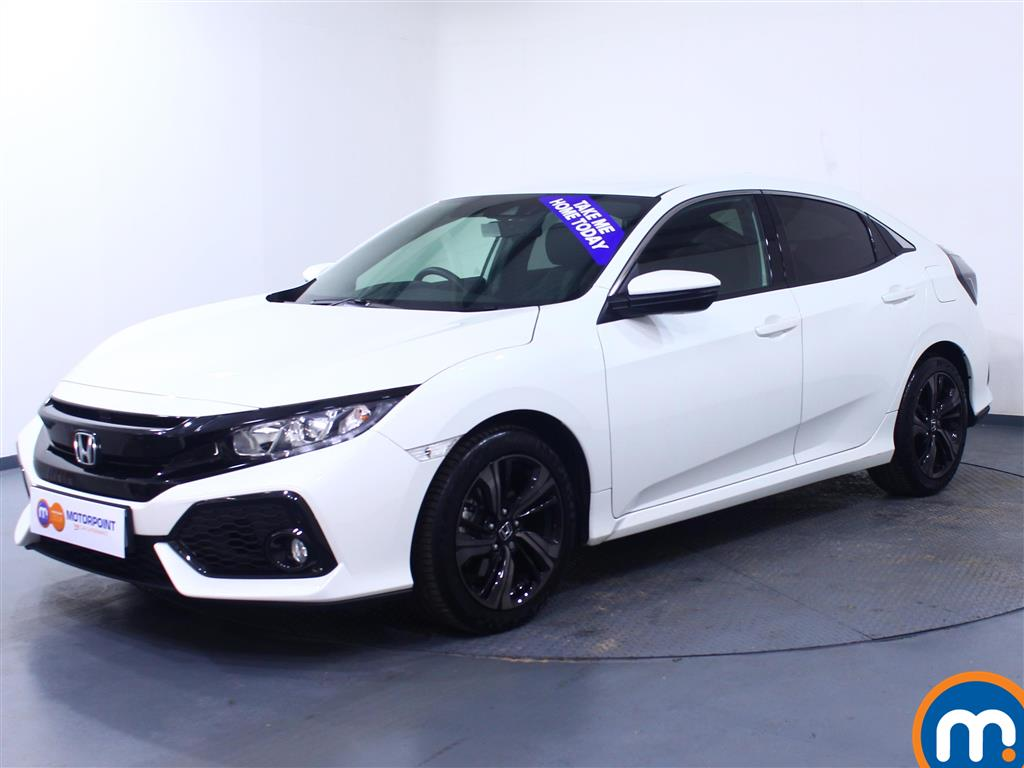 Honda Civic SR - Stock Number 1051659 Passenger side front corner