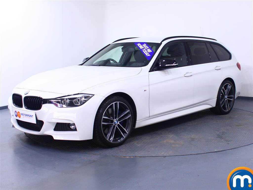 BMW 3 Series M Sport Shadow Edition - Stock Number 1053075 Passenger side front corner