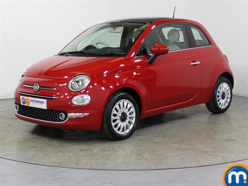 Fiat 500 Lounge - Stock Number 1050817 Passenger side front corner
