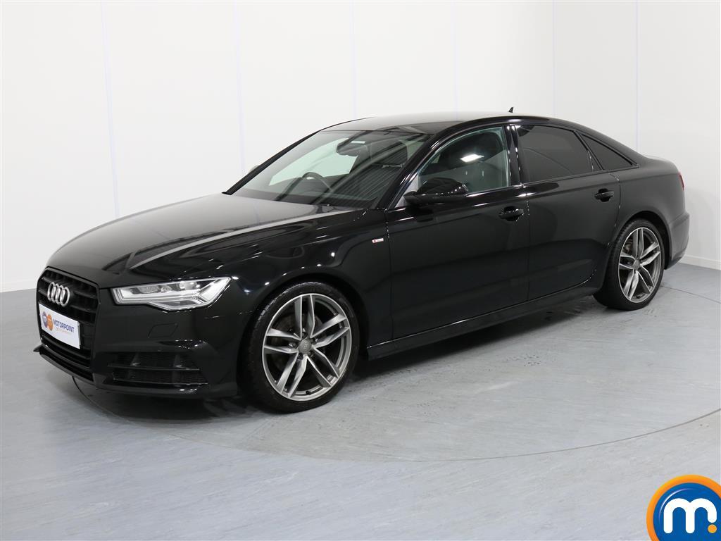 Audi A6 Black Edition - Stock Number 1051393 Passenger side front corner