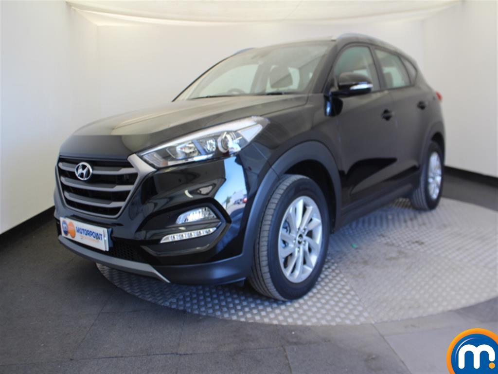 Hyundai Tucson SE Nav - Stock Number 1052724 Passenger side front corner