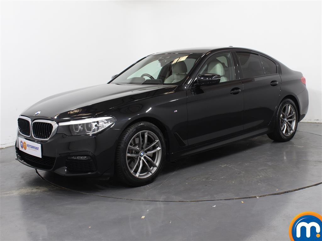 BMW 5 Series M Sport - Stock Number 1052899 Passenger side front corner
