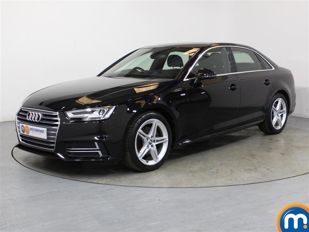 Audi A4 S Line - Stock Number 1052455 Passenger side front corner