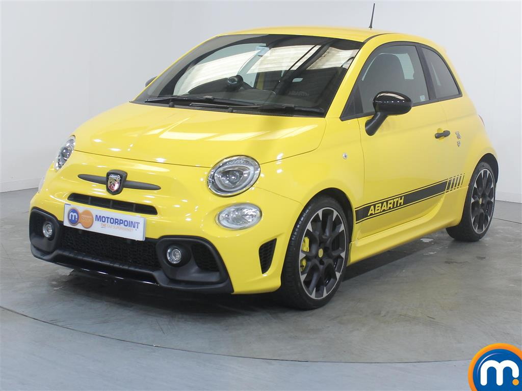 Abarth 595 Competizione - Stock Number 1050218 Passenger side front corner