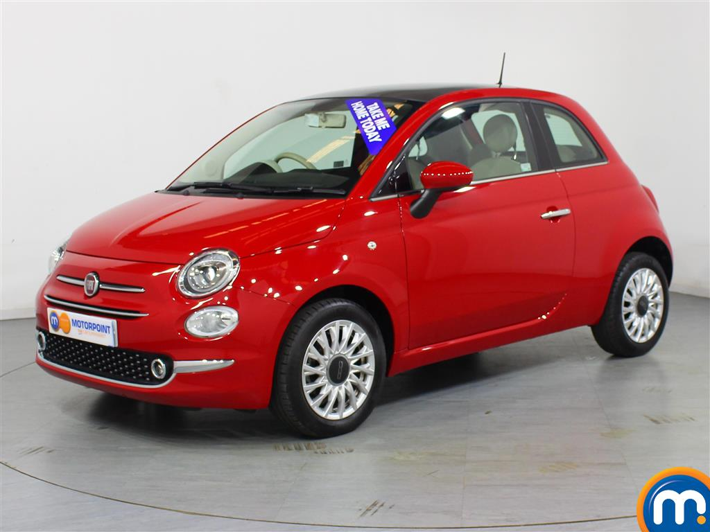 Fiat 500 Lounge - Stock Number 1050842 Passenger side front corner