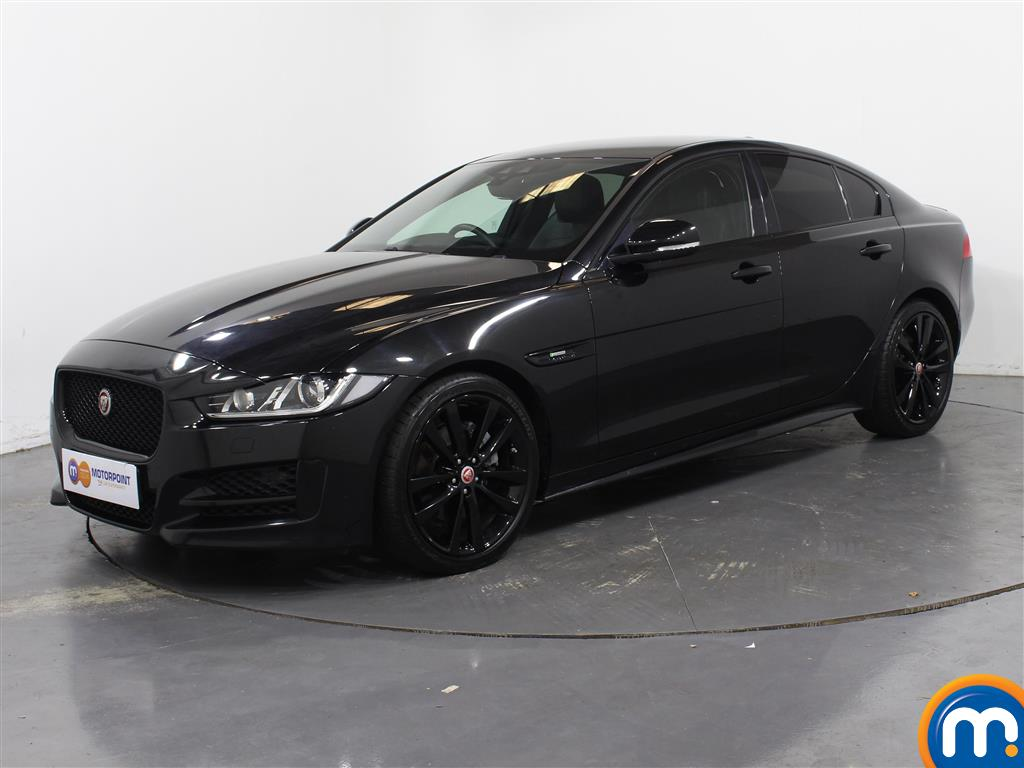 Jaguar XE R-Sport Black Edition - Stock Number 1049602 Passenger side front corner