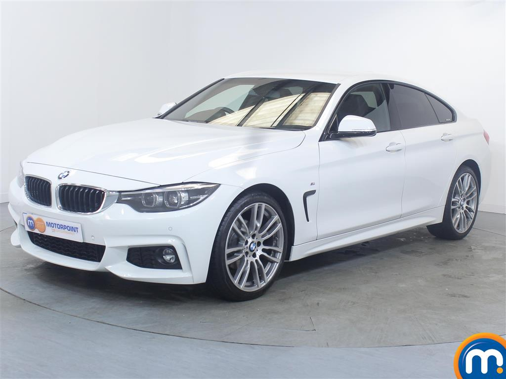 BMW 4 Series M Sport - Stock Number 1049953 Passenger side front corner