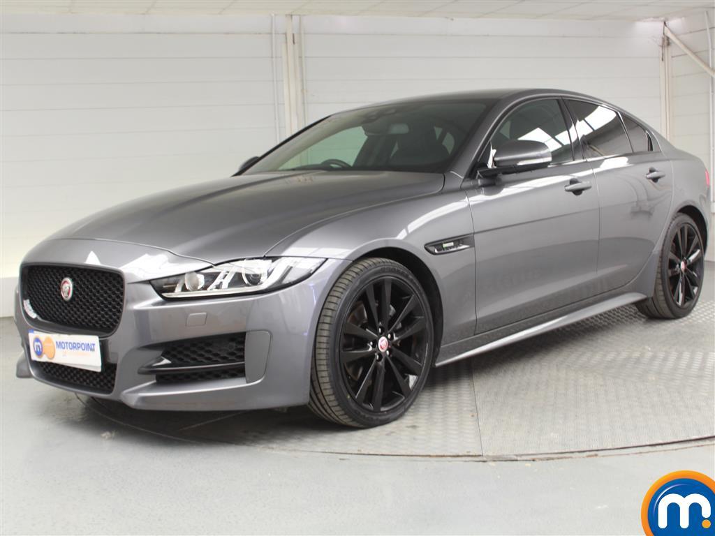Jaguar XE R-Sport Black Edition - Stock Number 1049595 Passenger side front corner