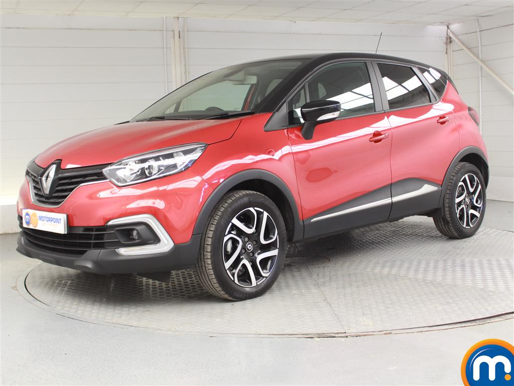 Renault Captur Iconic - Stock Number 1038486 Passenger side front corner