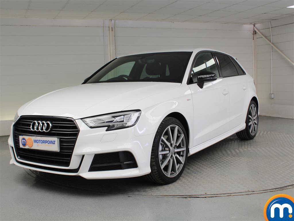 Audi A3 Black Edition - Stock Number 1051460 Passenger side front corner
