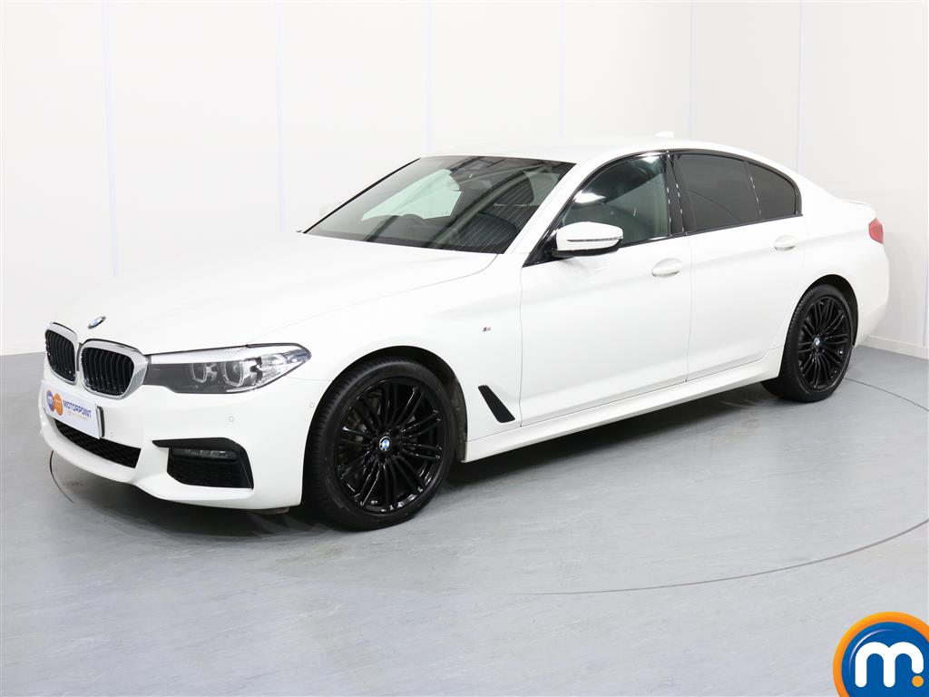 BMW 5 Series M Sport - Stock Number 1054256 Passenger side front corner