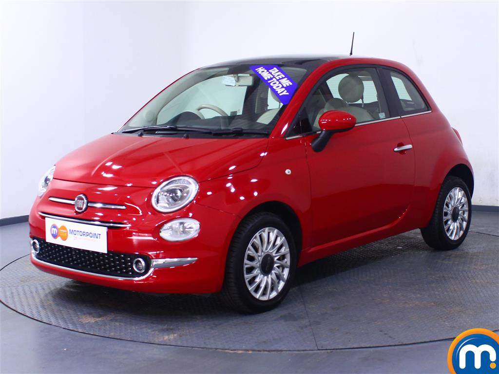 Fiat 500 Lounge - Stock Number 1050843 Passenger side front corner