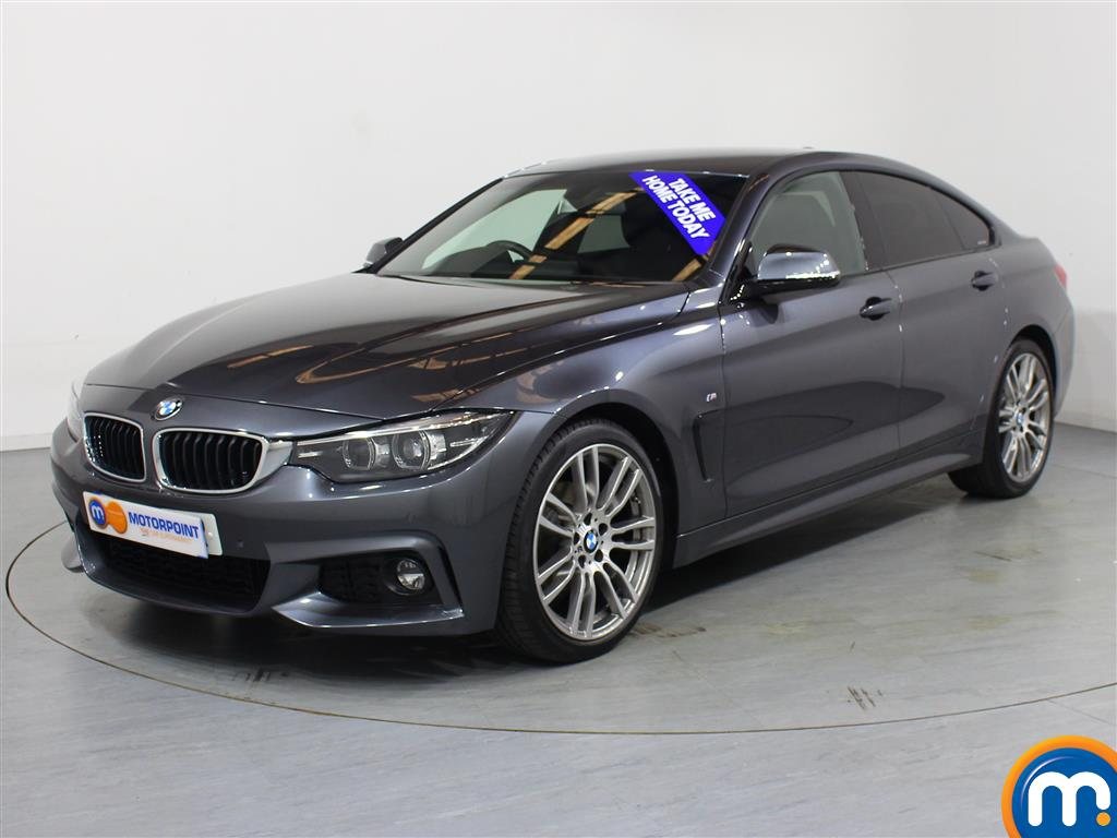 BMW 4 Series M Sport - Stock Number 1050189 Passenger side front corner