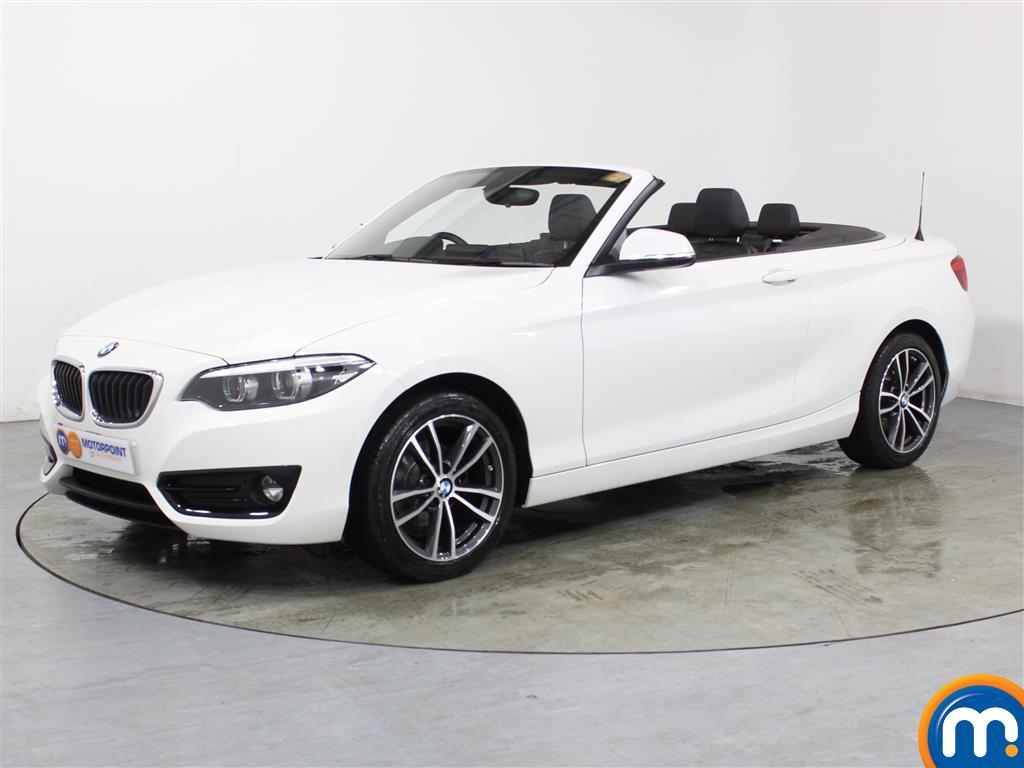 BMW 2 Series Sport - Stock Number 1053051 Passenger side front corner