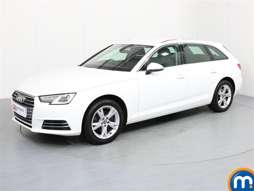 Audi A4 Sport - Stock Number 1052114 Passenger side front corner