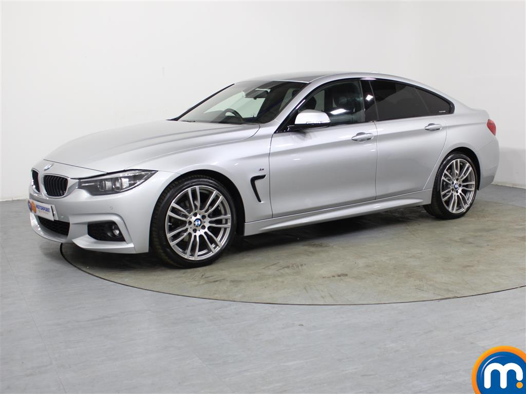 BMW 4 Series M Sport - Stock Number 1050055 Passenger side front corner