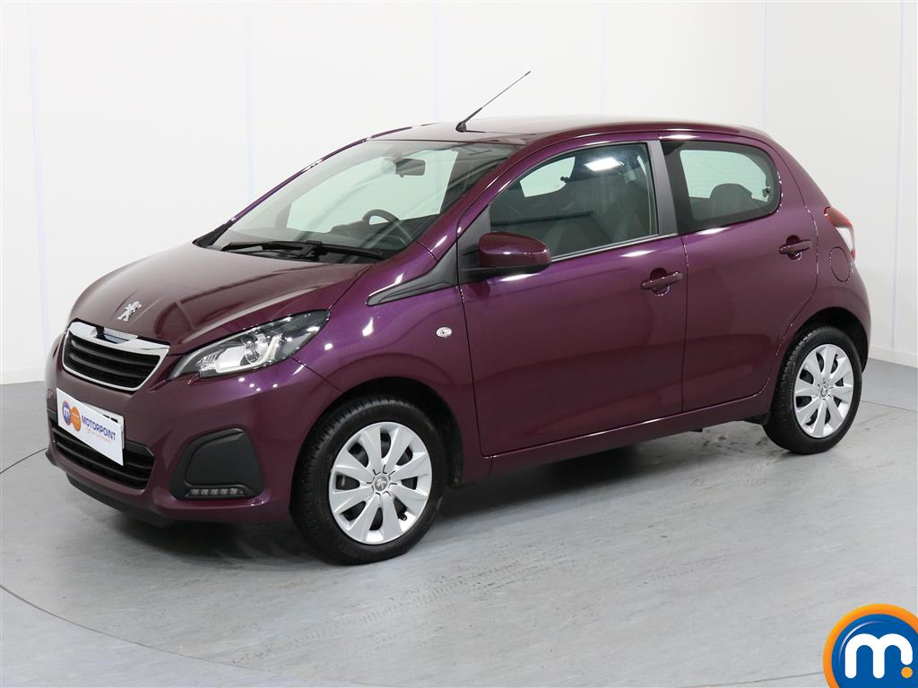 Peugeot 108 Active - Stock Number 1052250 Passenger side front corner
