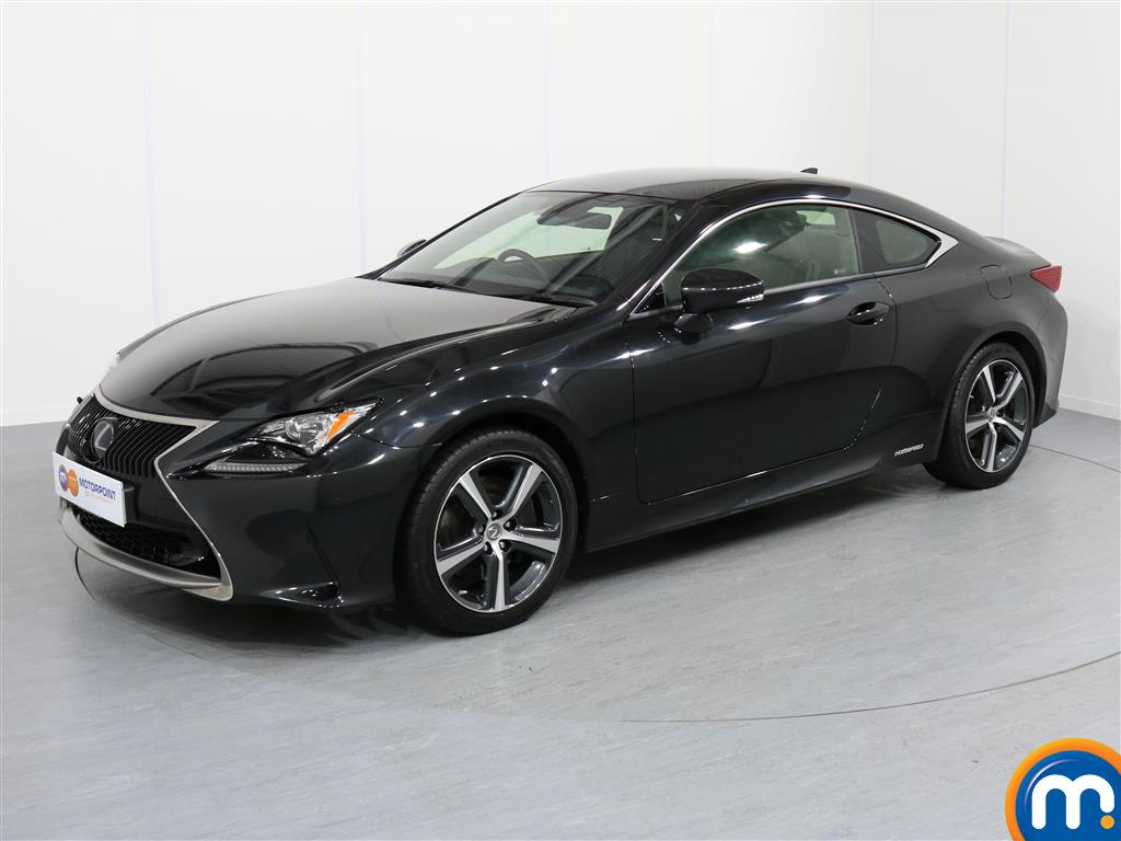 Lexus RC Luxury - Stock Number 1051148 Passenger side front corner