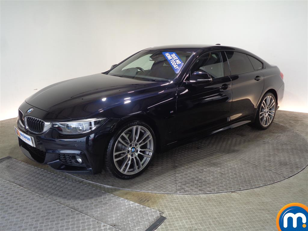 BMW 4 Series M Sport - Stock Number 1050012 Passenger side front corner