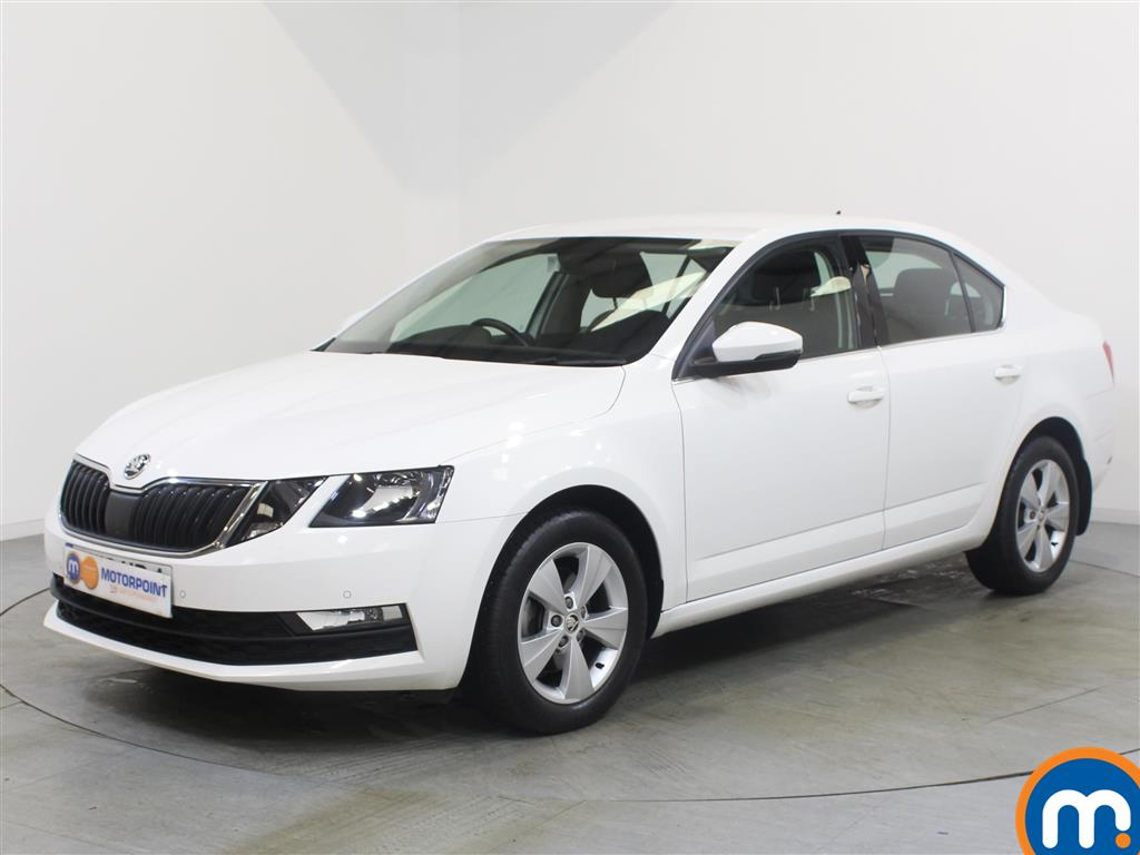 Skoda Octavia SE Technology - Stock Number 1053756 Passenger side front corner