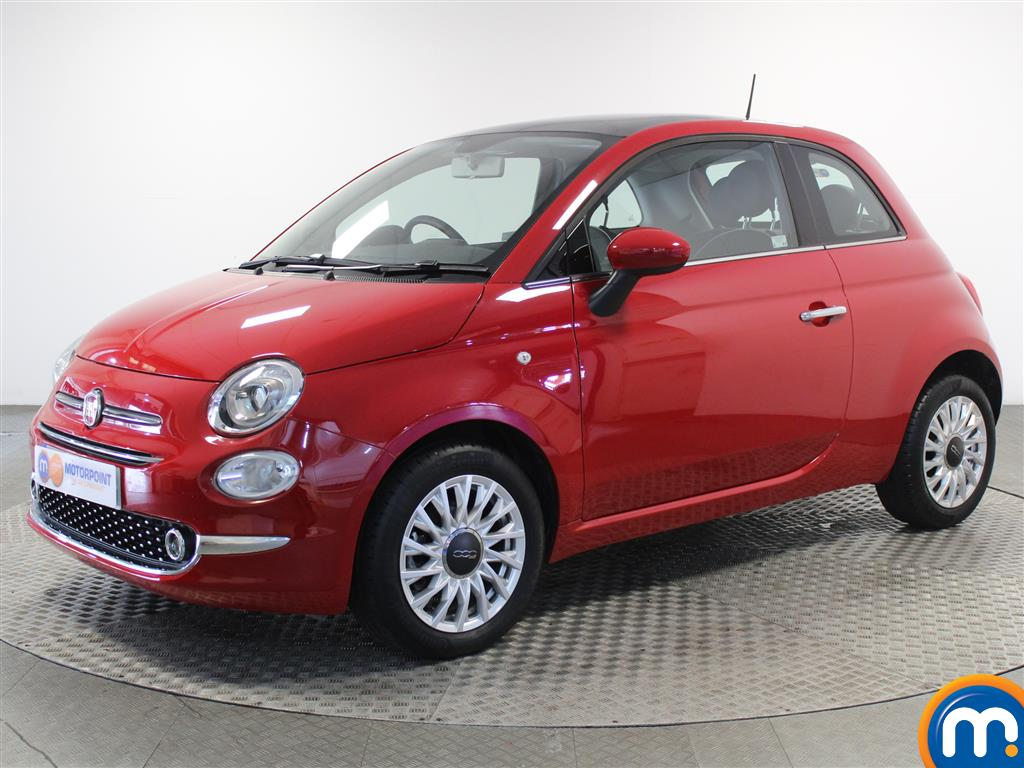 Fiat 500 Lounge - Stock Number 1050825 Passenger side front corner