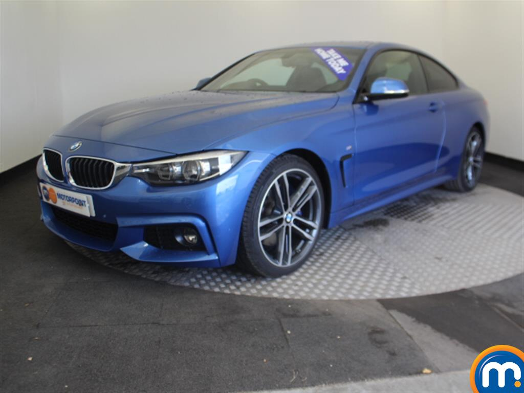 BMW 4 Series M Sport - Stock Number 1049312 Passenger side front corner