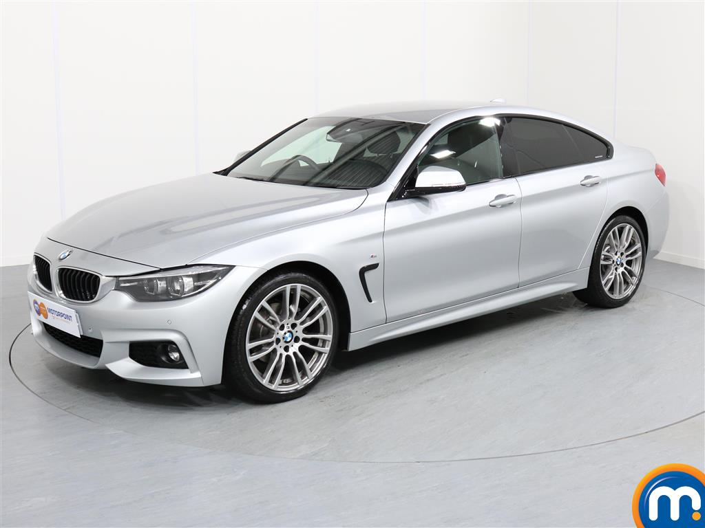 BMW 4 Series M Sport - Stock Number 1050186 Passenger side front corner
