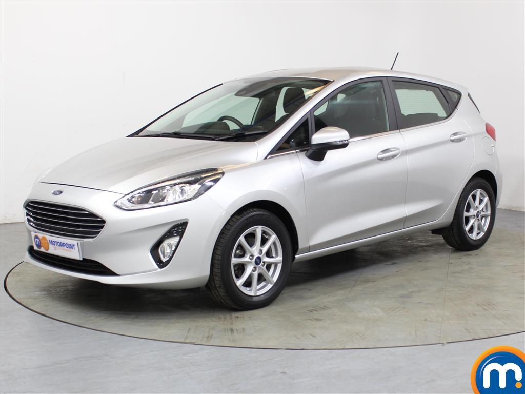 Ford Fiesta Zetec - Stock Number 1052597 Passenger side front corner