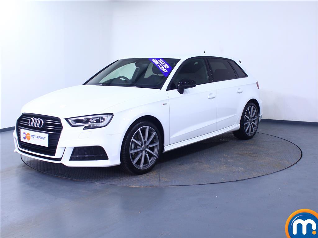 Audi A3 Black Edition - Stock Number 1053883 Passenger side front corner