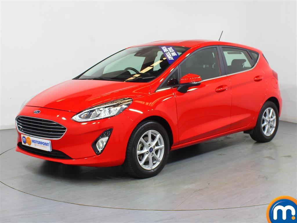 Ford Fiesta Zetec - Stock Number 1054555 Passenger side front corner