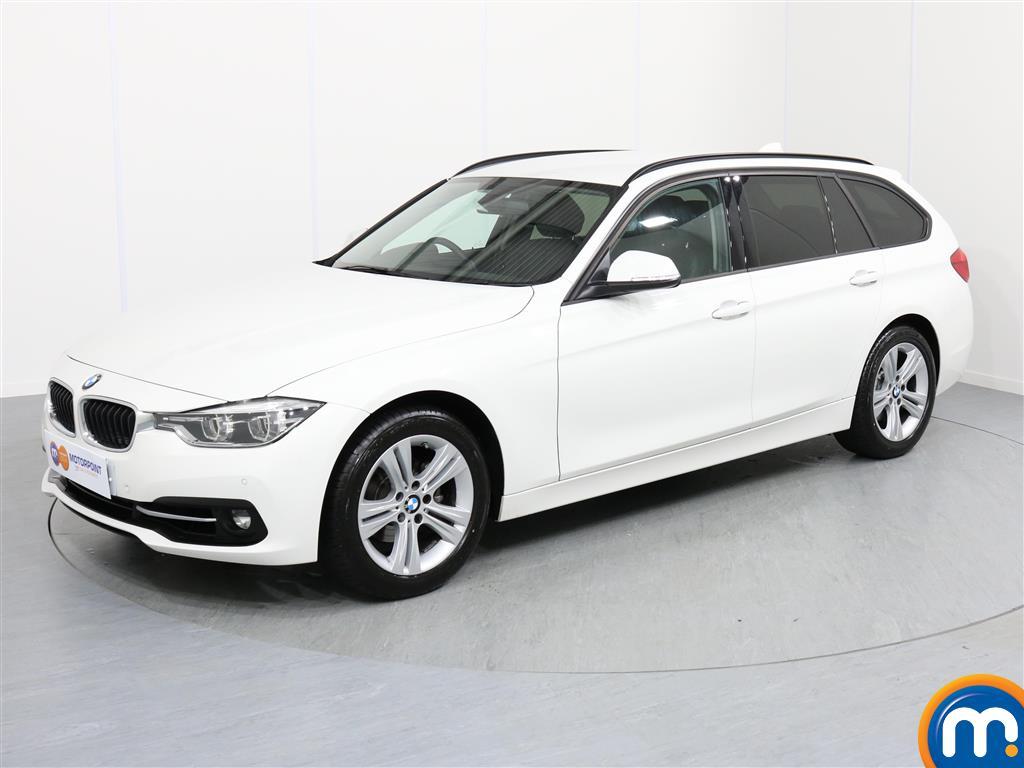 BMW 3 Series Sport - Stock Number 1053643 Passenger side front corner