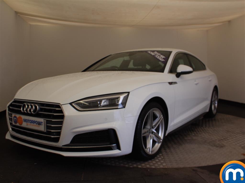Audi A5 S Line - Stock Number 1053675 Passenger side front corner