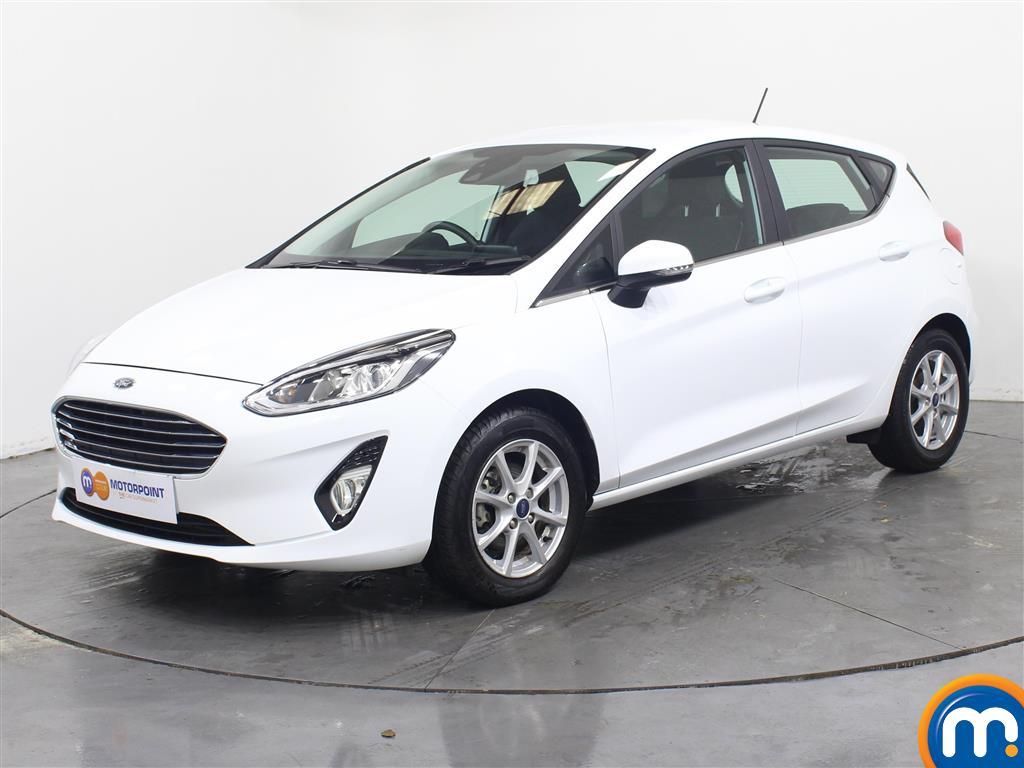 Ford Fiesta Zetec - Stock Number 1054603 Passenger side front corner