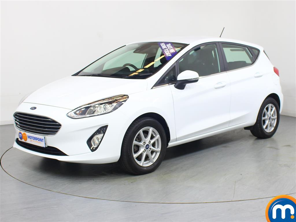 Ford Fiesta Zetec - Stock Number 1052610 Passenger side front corner