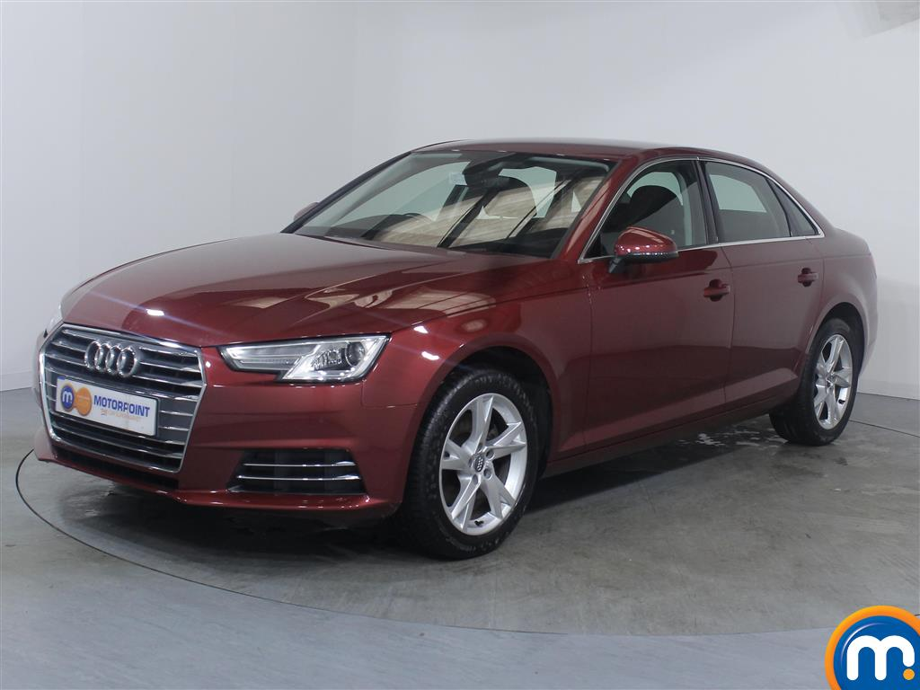 Audi A4 Sport - Stock Number 1053642 Passenger side front corner