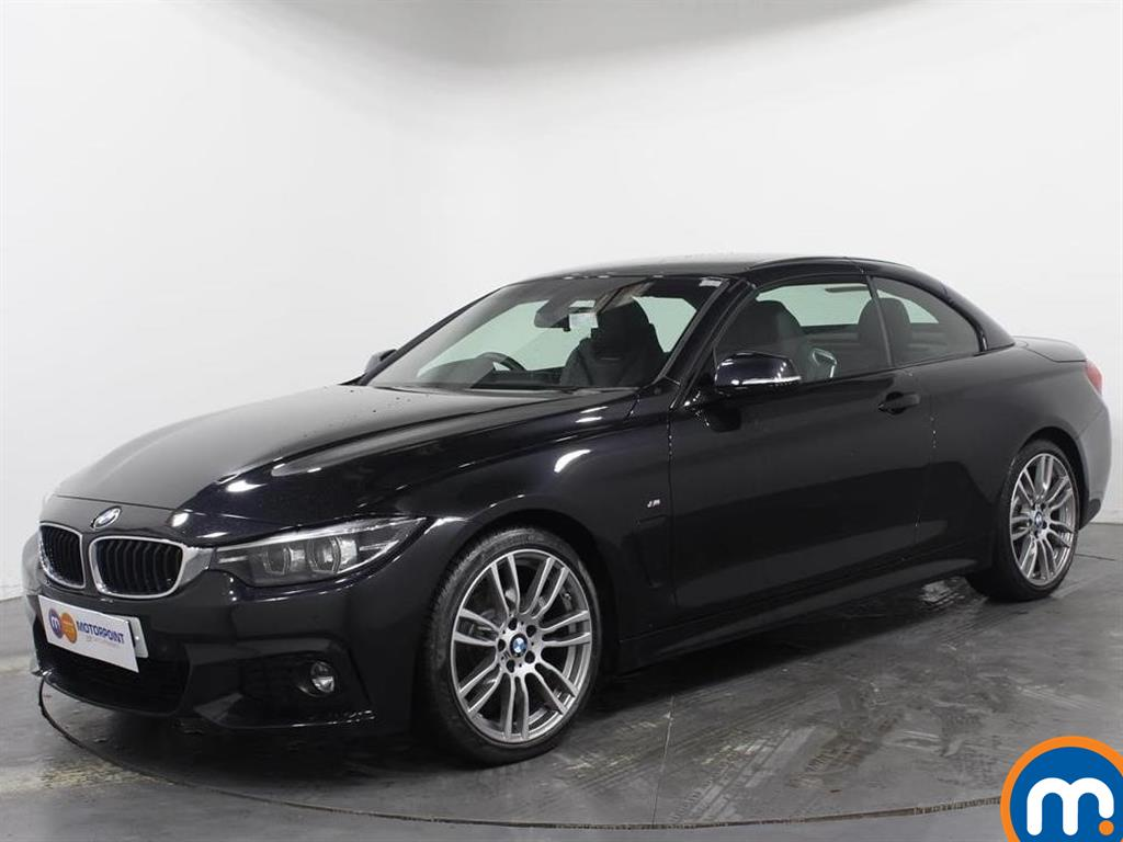BMW 4 Series M Sport - Stock Number 1053470 Passenger side front corner