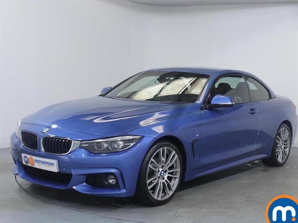 BMW 4 Series M Sport - Stock Number 1053490 Passenger side front corner