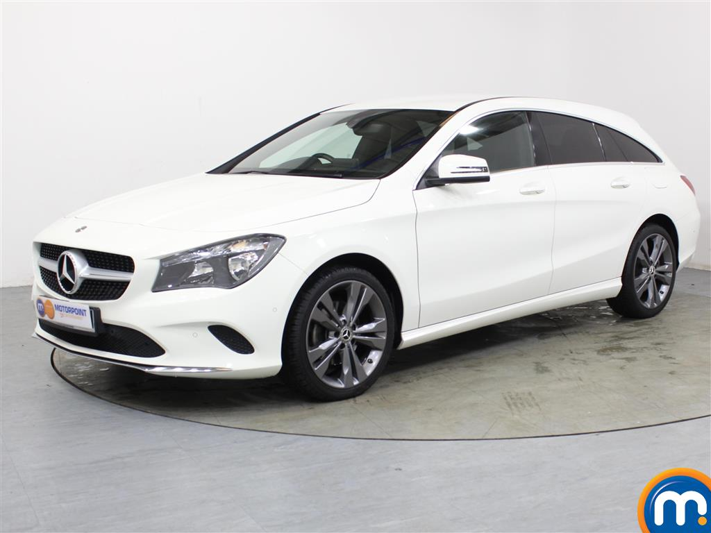 Mercedes-Benz Cla Class Sport - Stock Number 1053556 Passenger side front corner