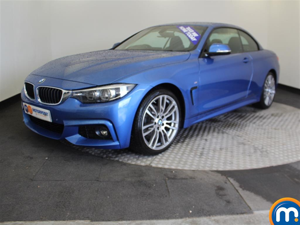 BMW 4 Series M Sport - Stock Number 1053466 Passenger side front corner